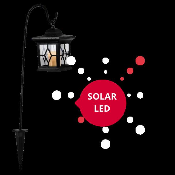 Star Trading 477-20 LED-Solarlaterne