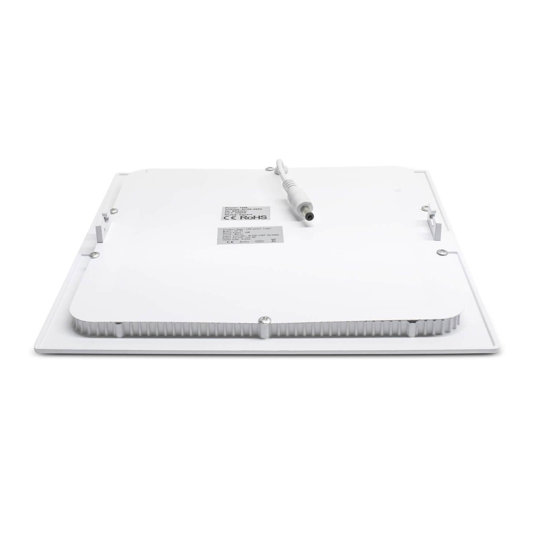 LED Panel 18W - quadratisch - warmweiß