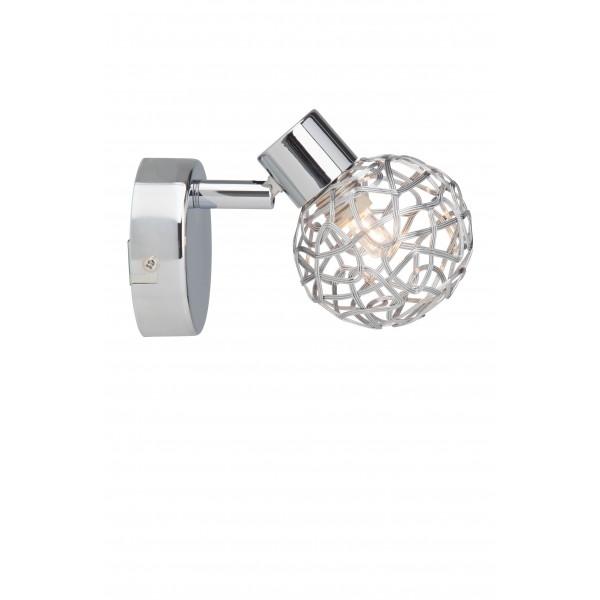Brilliant 02210/15 Virgo Wandspot Metall Beleuchtung