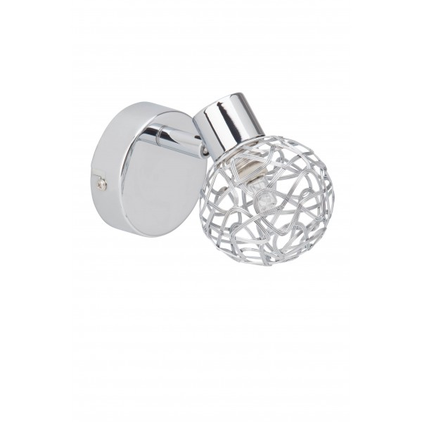 Brilliant 02210/15 Virgo Wandspot Metall Lampe