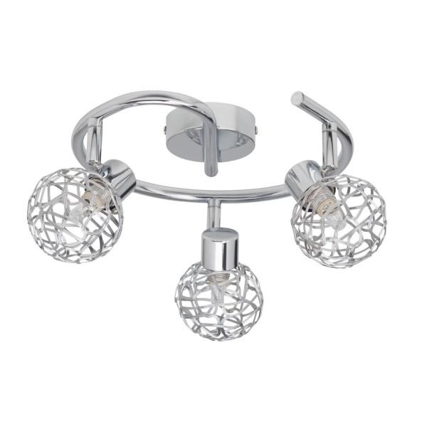 Brilliant 02233/15 Virgo Spotspirale, 3-flammig Metall Beleuchtung