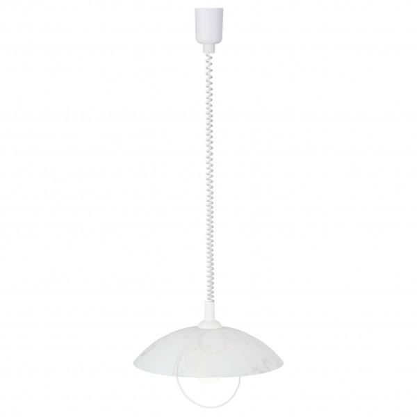 Brilliant 10578/05 Bona Pendelleuchte 40cm mit Rollizug Glas/Metall Leuchte