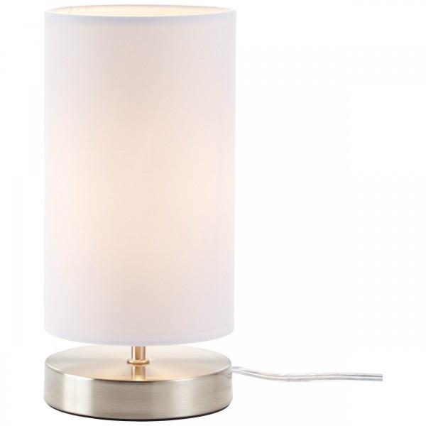Brilliant 13247/05 Clarie Tischleuchte Metall/Textil Lampe
