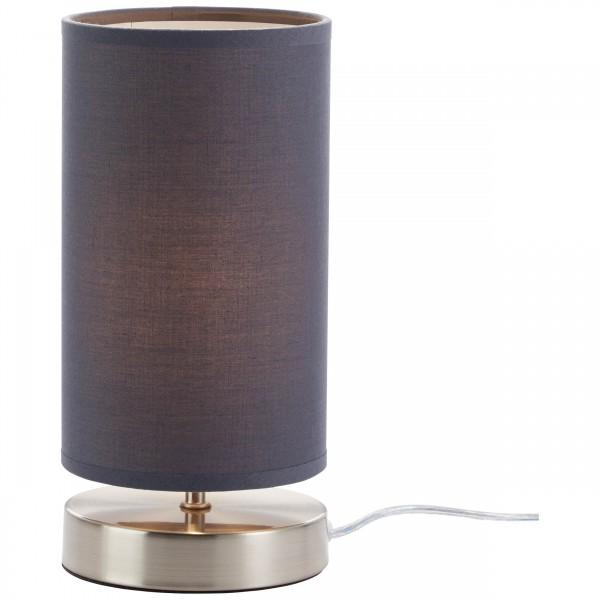 Brilliant 13247/22 Clarie Tischleuchte Metall/Textil Lampe