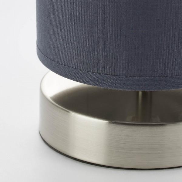 Brilliant 13247/22 Clarie Tischleuchte Metall/Textil Haengeleuchte