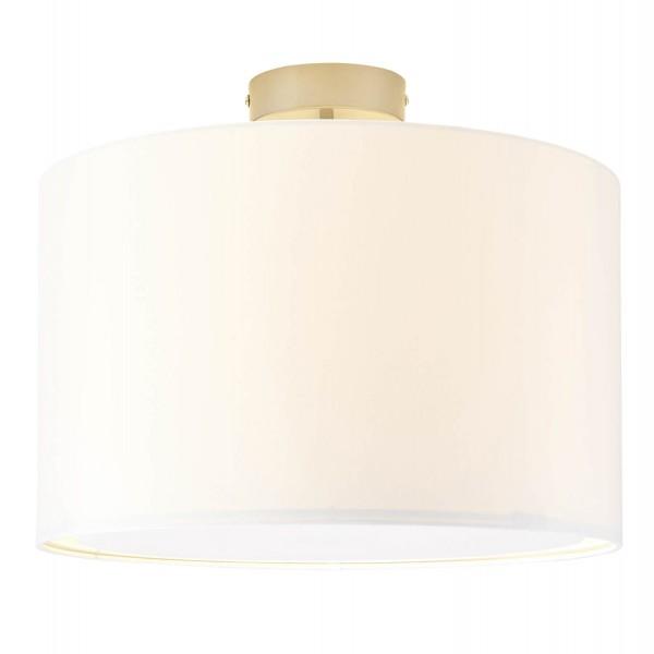Brilliant 13291/05 Clarie Deckenleuchte 40cm Metall/Textil Lampe