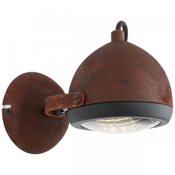 Brilliant 14910/55 Rider Wandspot Metall/Glas Lampe