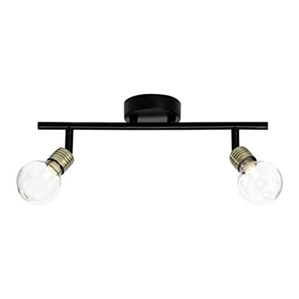 Brilliant 21213/76 Bulb Spotrohr, 2-flammig Metall/Glas Leuchte