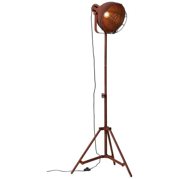 Brilliant 23759/55 Jesper Standleuchte 39cm (Gitter) Metall Lampe