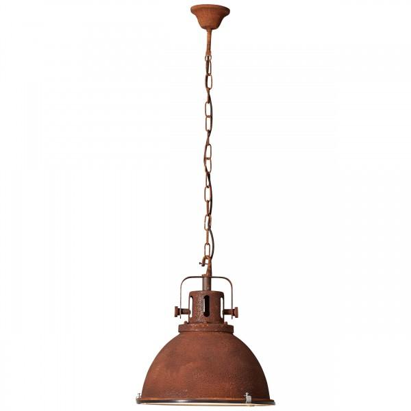 Brilliant 23772/55 Jesper Pendelleuchte 38cm (Glas) Metall/Glas Lampe
