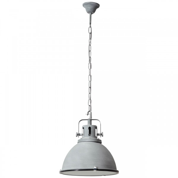 Brilliant 23772/70 Jesper Pendelleuchte 38cm (Glas) Metall/Glas Beleuchtung