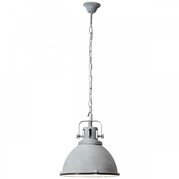 Brilliant 23772/70 Jesper Pendelleuchte 38cm (Glas) Metall/Glas Lampe
