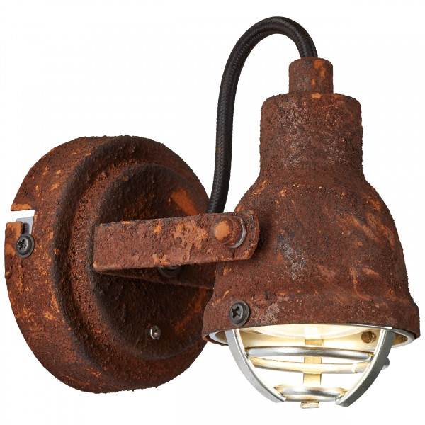 Brilliant 26310/60 Bente Wandspot Metall Lampe