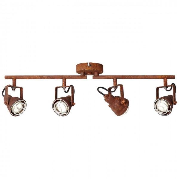 Brilliant 26332/60 Bente Spotrohr, 4-flammig, drehbar Metall Lampe