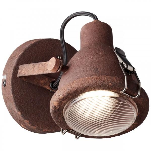 Brilliant 26810/60 Bentli Wandspot Metall/Glas Lampe