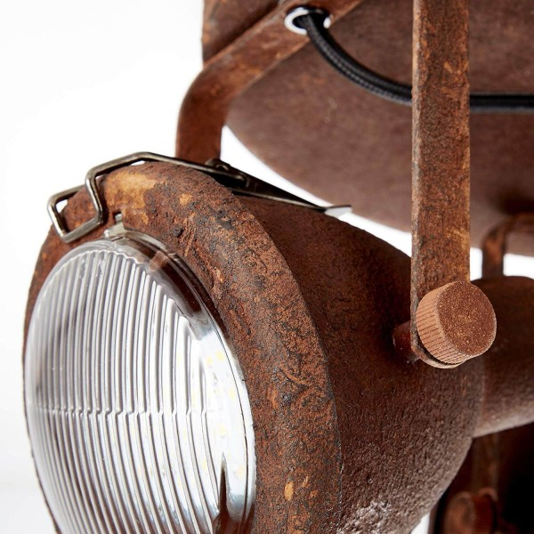Brilliant 26834/60 Bentli Spotrondell, 3-flammig Metall/Glas Beleuchtung