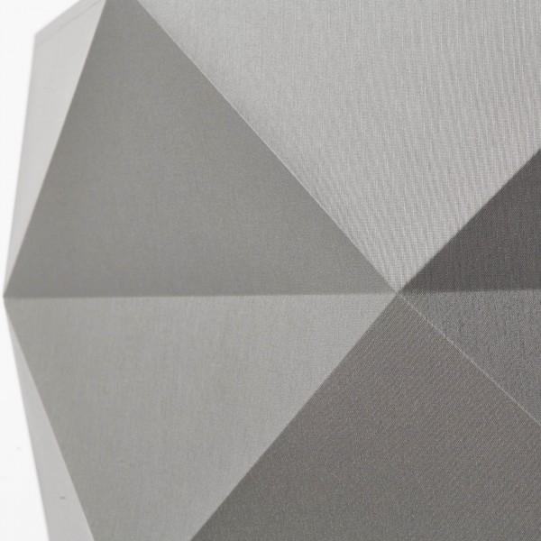 Brilliant 31970/63 Polygon Pendelleuchte 43cm Holz/Textil Haengeleuchte