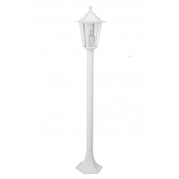 Brilliant 40285/05 Crown Aussenstandleuchte Aluminium-Druckguss/Glas Beleuchtung