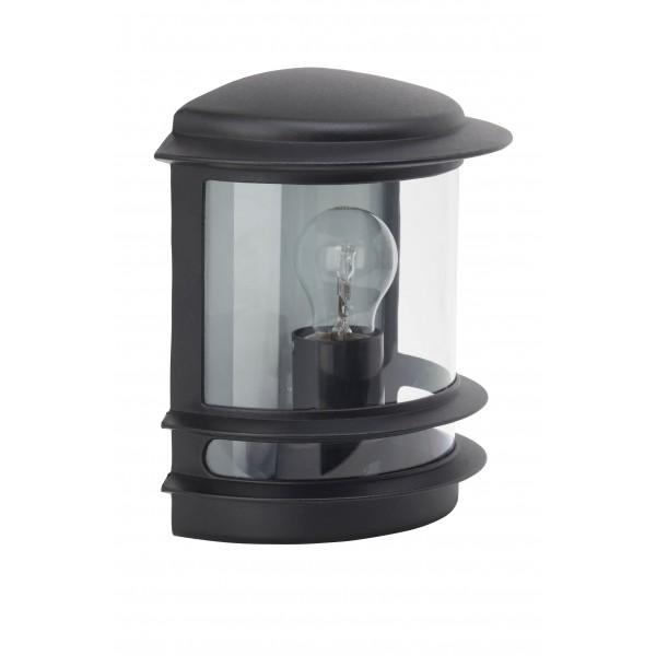 Brilliant 47880/06 Hollywood Aussenwandleuchte Aluminium-Druckguss/Kunststoff Lampe