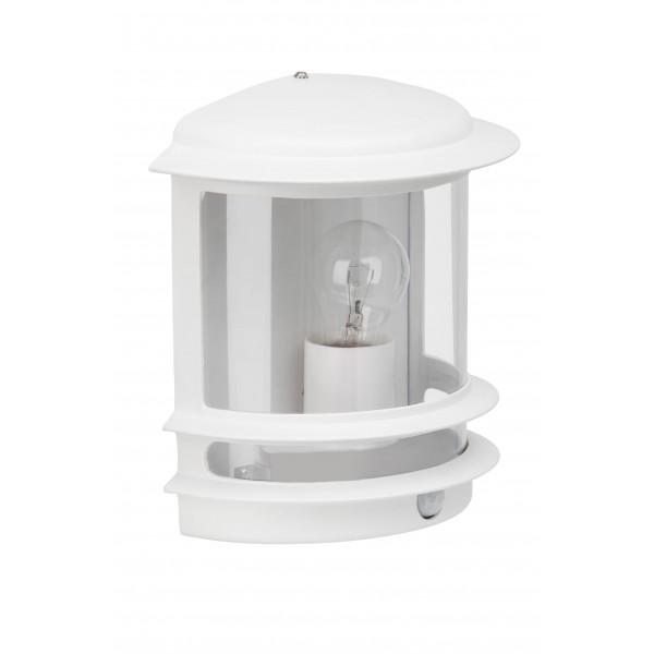 Brilliant 47897/05 Hollywood Aussenwandleuchte mit Bewegungsmelder Aluminium-Druckguss/Kunststoff Lampe
