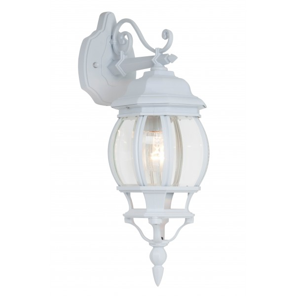 Brilliant 48682/05 Istria Aussenwandleuchte, haengend Aluminium-Druckguss/Glas Leuchte