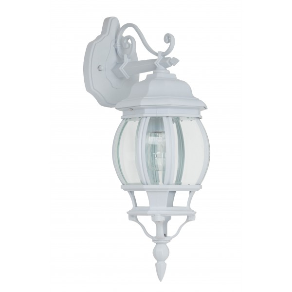 Brilliant 48682/05 Istria Aussenwandleuchte, haengend Aluminium-Druckguss/Glas Beleuchtung