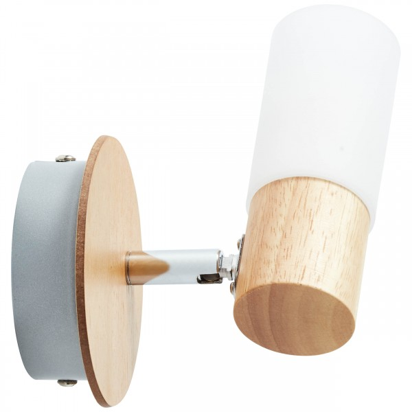 Brilliant 51410/50 Babsan Wandspot Metall/Holz/Kunststoff Deckenleuchte