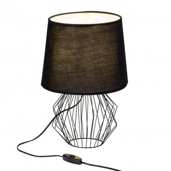 Brilliant 54148/06 Noris Tischleuchte Textil/Metall Leuchte