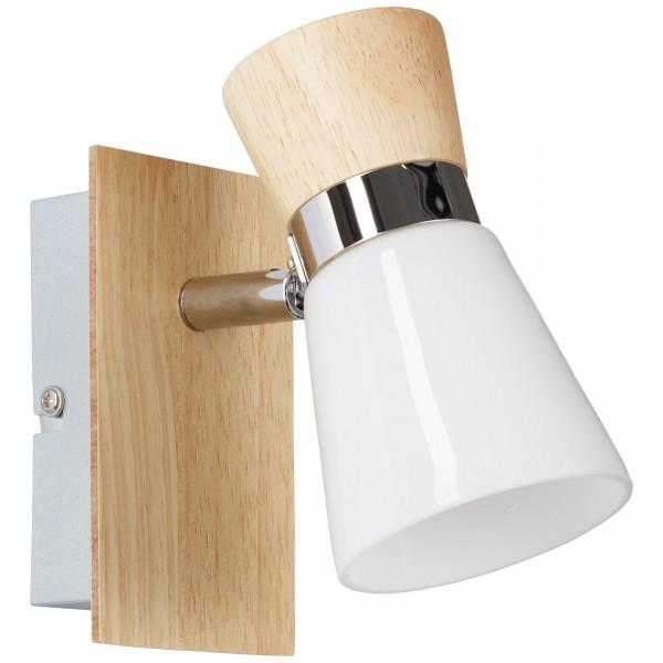 Brilliant 56310/75 Nacolla Wandspot Metall/Holz/Kunststoff Beleuchtung