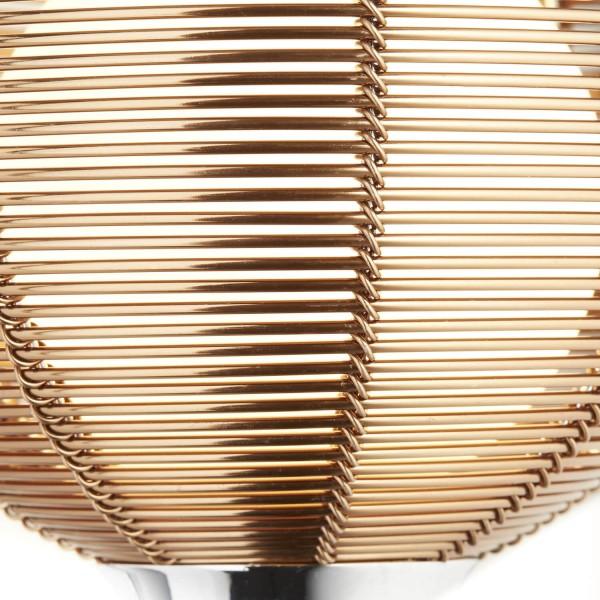 Brilliant 61111/53 Relax Wandleuchte mit Schalter Metall/Glas Lampe