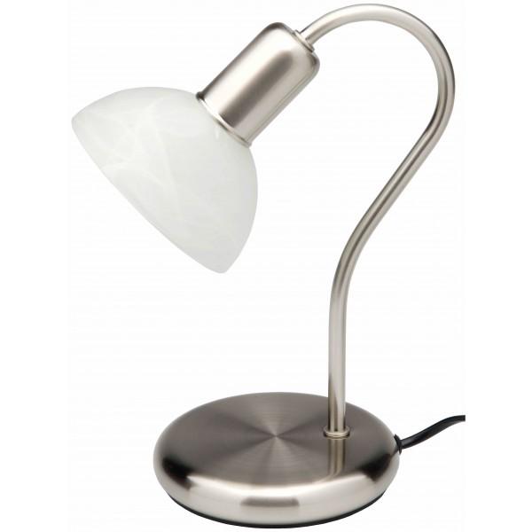 Brilliant 67347/75 Pearl Tischleuchte Metall/Glas Beleuchtung