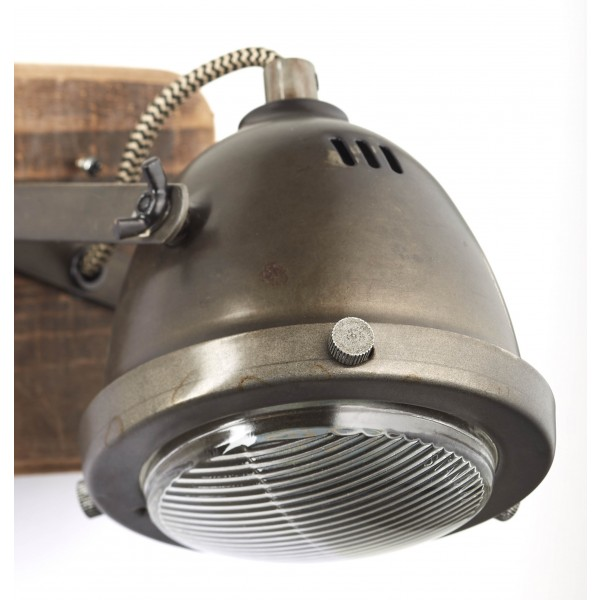 Brilliant 72010/84 Carmen Wood Wandspot Metall/Holz Stehlampe