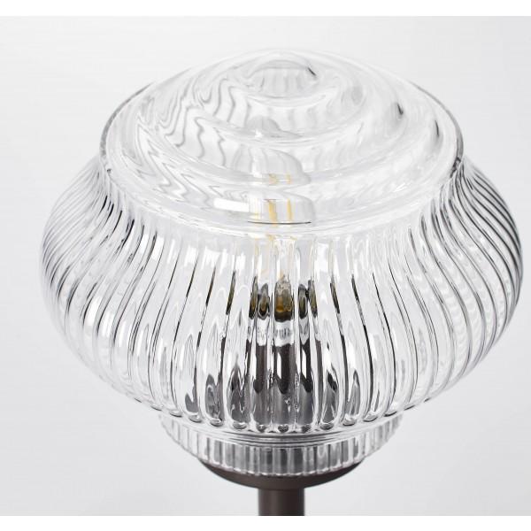 Brilliant 73247/20 Tanic Tischleuchte Glas/Metall Haengeleuchte