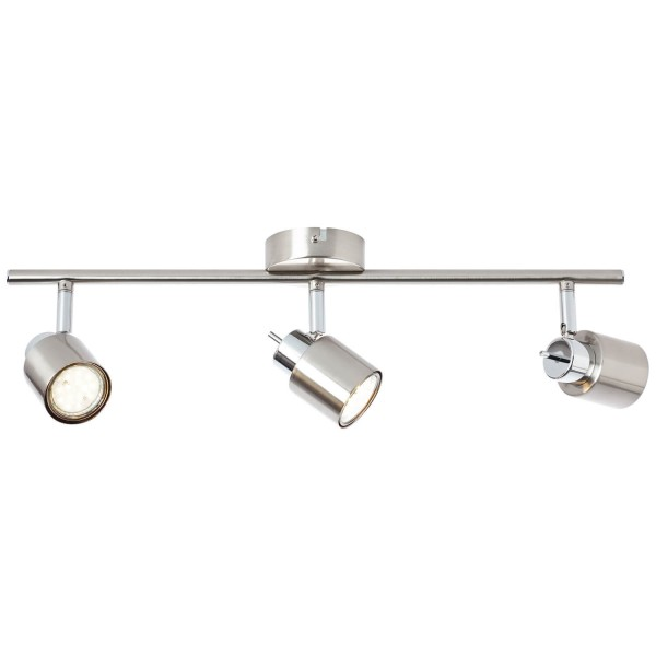 Brilliant 74516/77 Andres Spotrohr, 3-flammig Metall Lampe