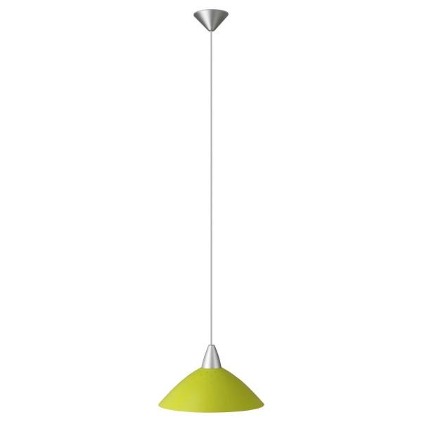 Brilliant 78270/04 Logo Pendelleuchte 35cm Metall/Kunststoff Leuchte