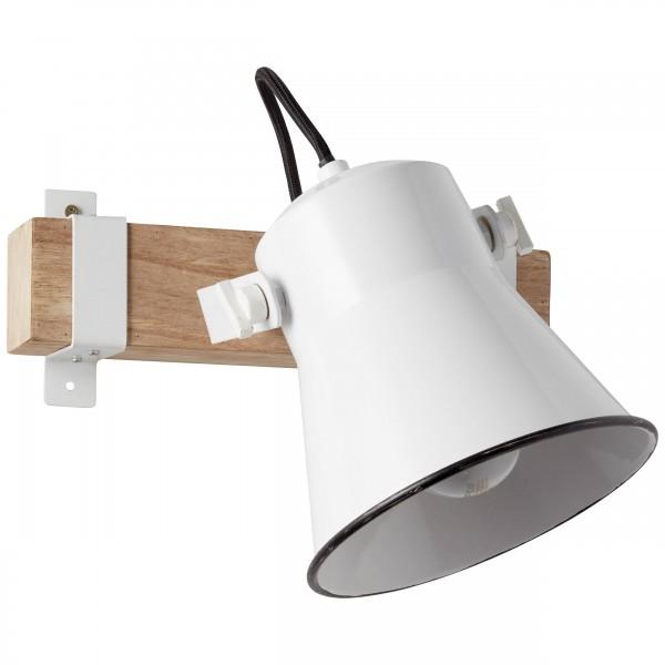 Brilliant 82110/05 Plow Wandspot Metall/Holz Beleuchtung