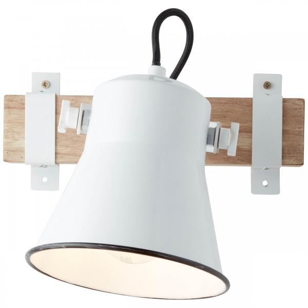 Brilliant 82110/05 Plow Wandspot Metall/Holz Lampe