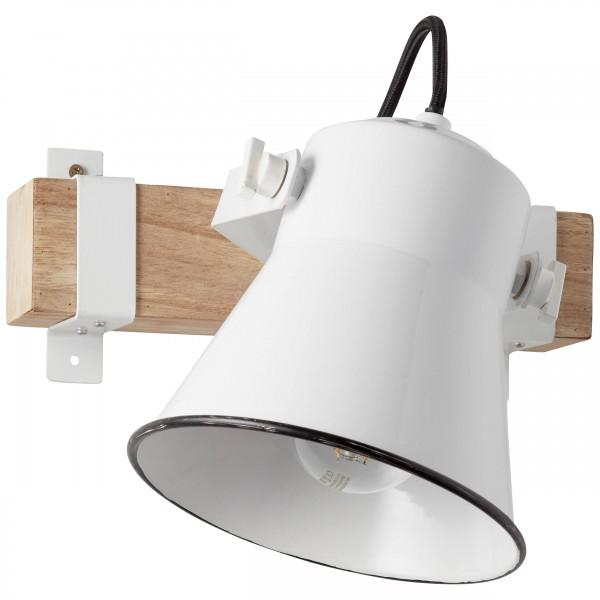 Brilliant 82110/05 Plow Wandspot Metall/Holz Deckenleuchte