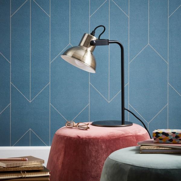 Brilliant 90088/31 Ester Tischleuchte Metall Lampe