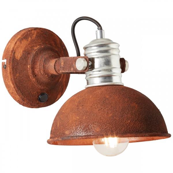 Brilliant 90111/60 Frieda Wandspot mit Schalter Metall Lampe