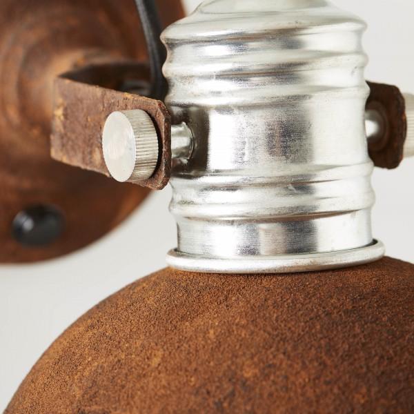 Brilliant 90111/60 Frieda Wandspot mit Schalter Metall Pendelleuchte
