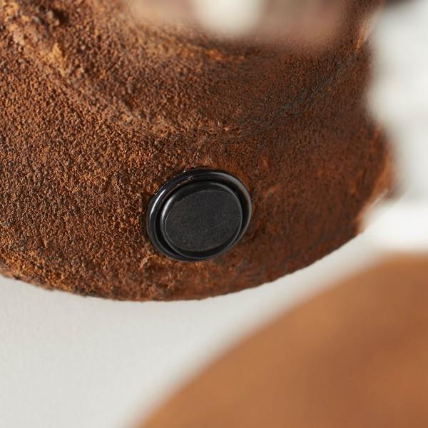 Brilliant 90111/60 Frieda Wandspot mit Schalter Metall Tischleuchte