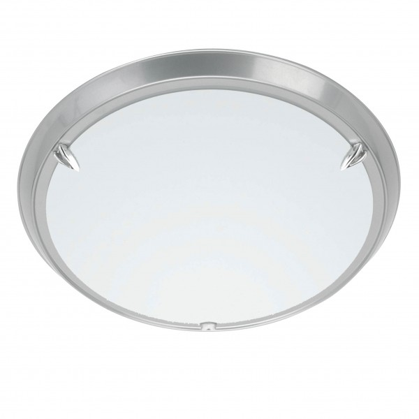 Brilliant 90288/11 Livorno Wand- und Deckenleuchte 30cm Metall/Glas Leuchte