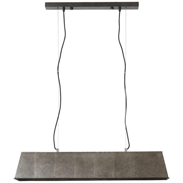 Brilliant 93335/46 Lazar Pendelleuchte, 4-flammig Metall/Kunststoff/Textil Beleuchtung