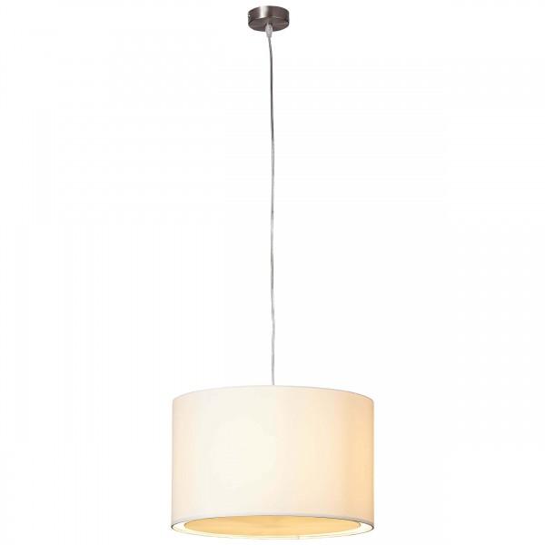 Brilliant 93374/05 Clarie Pendelleuchte 40cm Metall/Textil LED Lampen