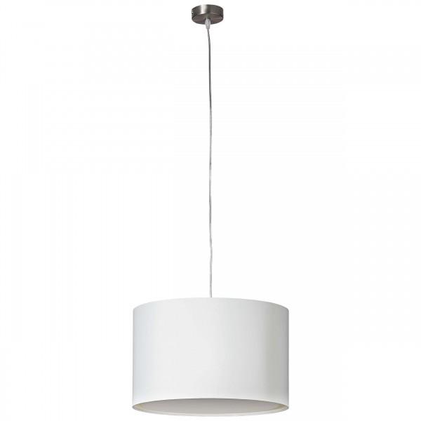 Brilliant 93374/05 Clarie Pendelleuchte 40cm Metall/Textil schoene lampenwelt