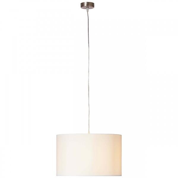Brilliant 93374/05 Clarie Pendelleuchte 40cm Metall/Textil Leuchten