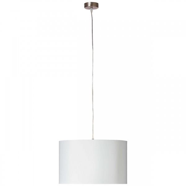 Brilliant 93374/05 Clarie Pendelleuchte 40cm Metall/Textil Beleuchtung