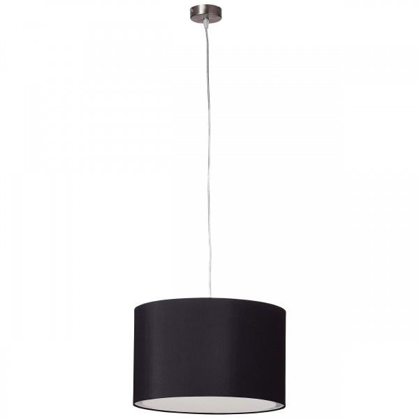 Brilliant 93374/06 Clarie Pendelleuchte 40cm Metall/Textil schoene lampenwelt