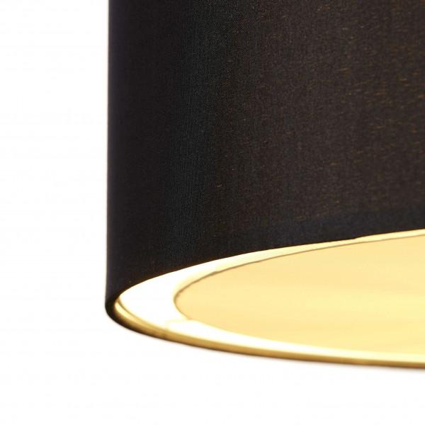 Brilliant 93374/06 Clarie Pendelleuchte 40cm Metall/Textil Beleuchtung
